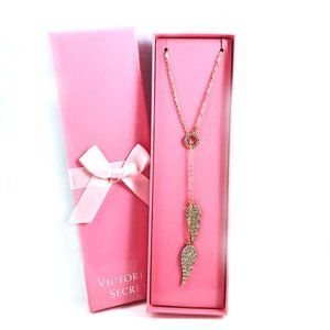 VS Angel Wings Lariat Necklace